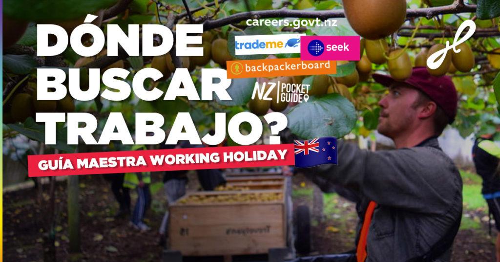 Cuales son las páginas para buscar trabajo en Nueva Zelanda