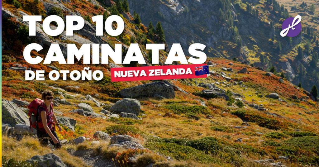 Las 10 mejores caminatas de Nueva Zelanda en otoño