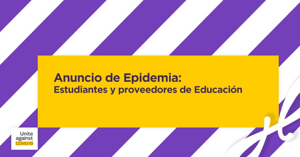Anuncio de epidemia hola nueva zelanda