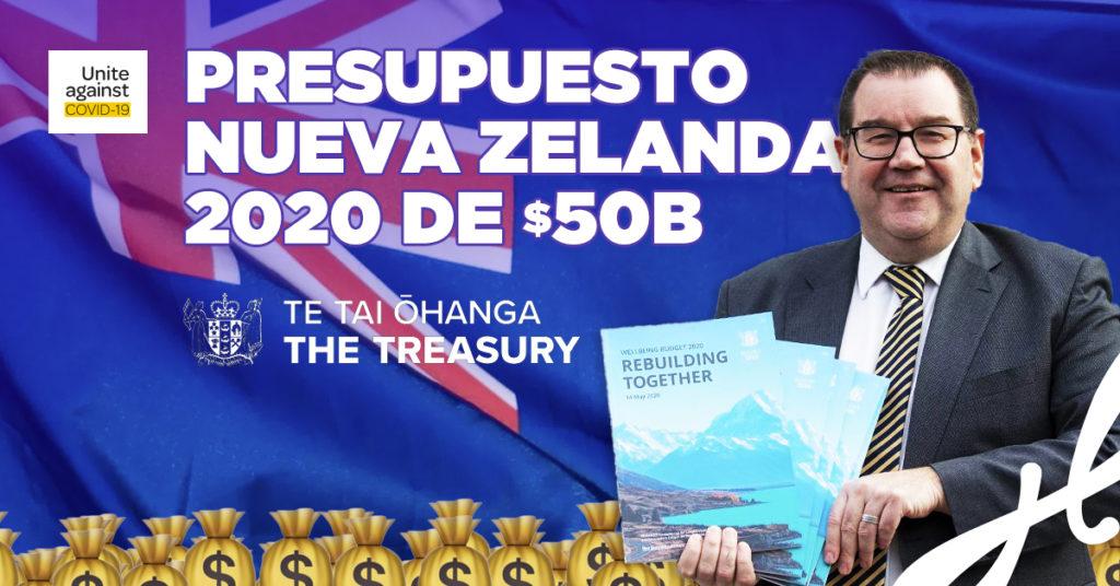 Presupuesto 2020 de Nueva Zelanda