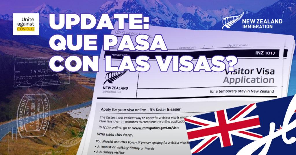 extensiones y procesamientos de visas mayo 2020