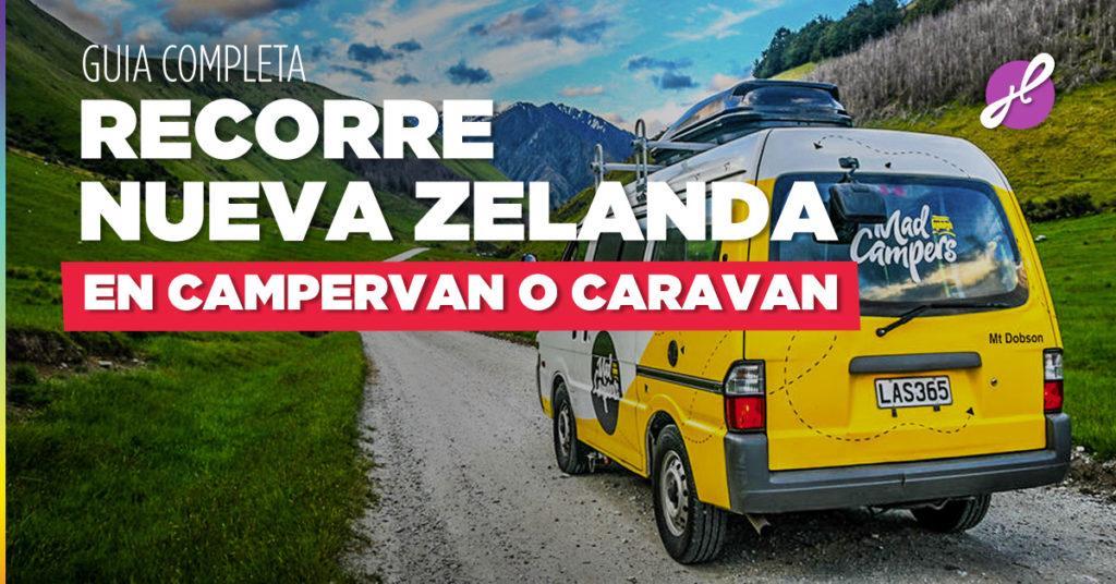 Viajar en Nueva Zelanda en Campervan o Caravan
