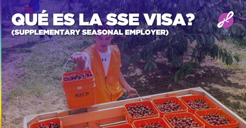 Qué es la SSE (Supplementary Seasonal Employer) visa?