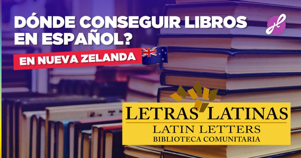 libros en español en Nueva Zelanda