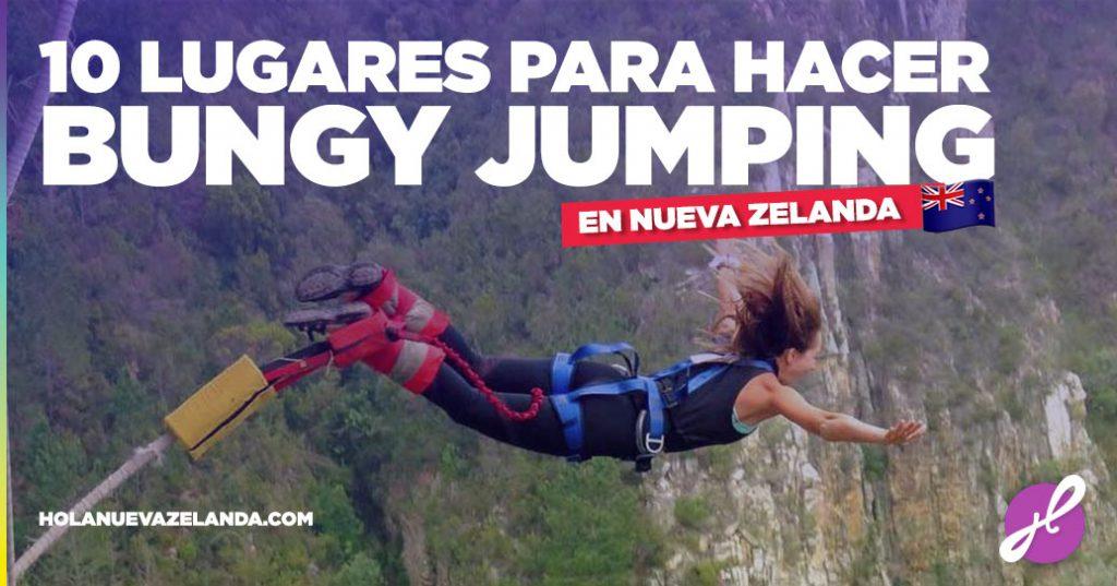 lugares para hacer bungee jumping nueva zelanda