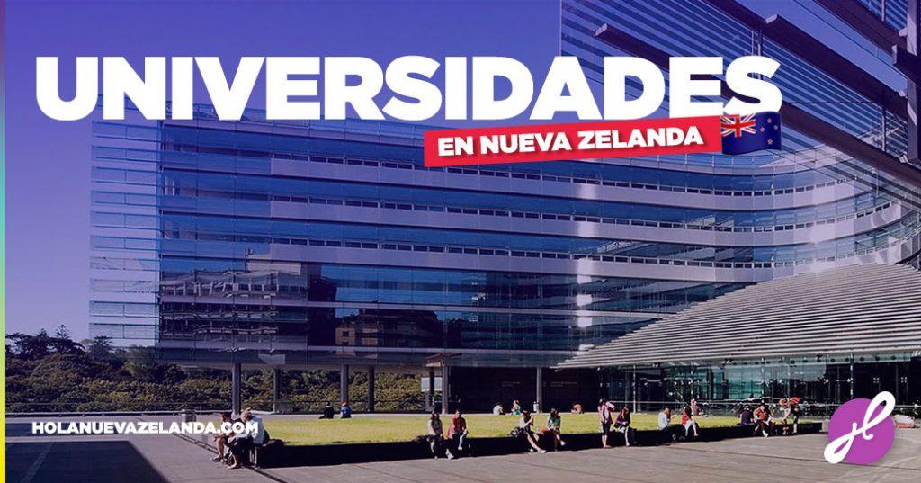 universidades en nueva zelanda