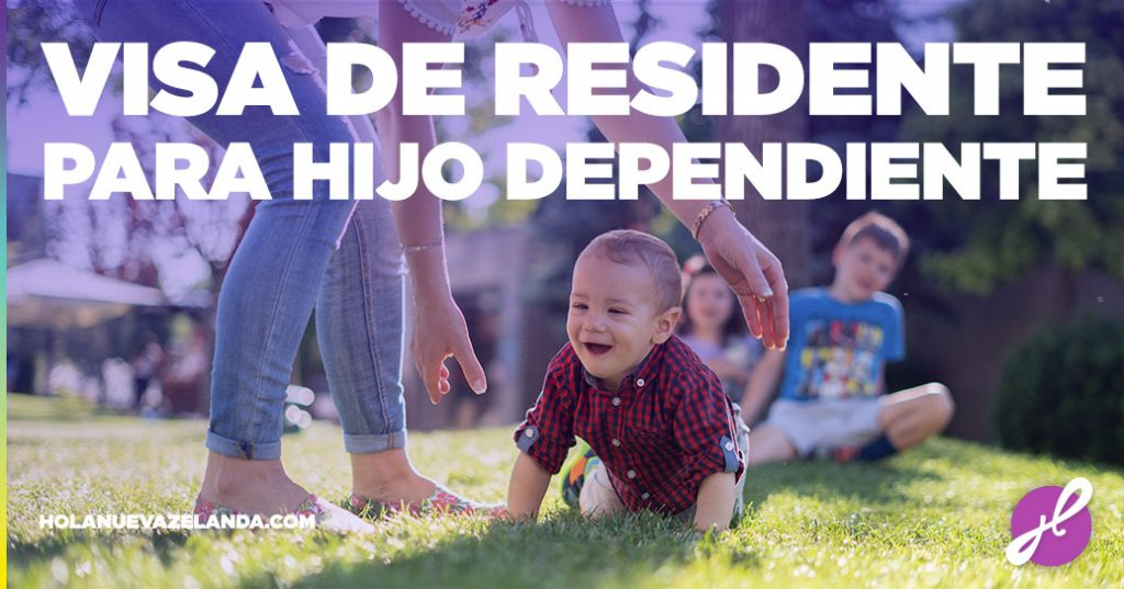 visa de residente para hijo dependiente