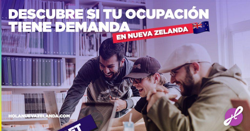 ocupaciones en demanda en nueva zelanda